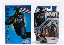 Captain America SDCC EXCLUSIVE CAS 90 Marvel Universe Action Figure GRADED MOC