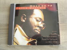 soul CD peggy lee funk CURTIS MAYFIELD Move On Up *MISPRESS*superfly COMPILATION