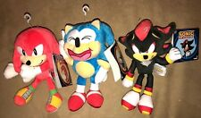 Tomy Sonic the Hedgehog Knuckles Shadow plush super RARE toy action figure Lot 3