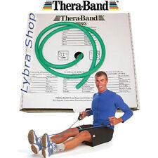 TheraBand TUBO ELÁSTICO pilates VERDE resistente 2, 5Mt tubería Thera-Band