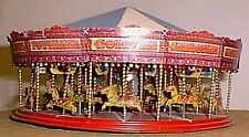 36 Horse Galloper Carousel Ride Fair Q42 UNPAINTED OO Scale Langley Models Kit
