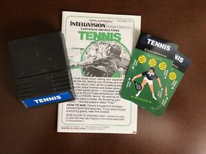 Tennis from Mattel Electronics for Intellivision no box