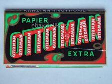OTTOMAN EXTRA cartine sigarette papier cigarettes vecchio pacchetto vintage
