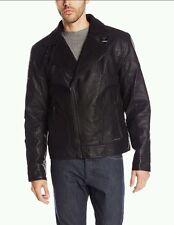 Calvin Klein Jeans Men's Faux Leather Aviator Jacket MULTIPLE SIZES