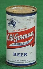Old German Beer, Queen City Brewing Co. Cumberland, Md. Flat Top Can #106-31