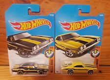 Hot Wheels 2017 MUSCLE MANIA 6/10 '69 DODGE CHARGER 500 MOONEYES x2 (A+/A)