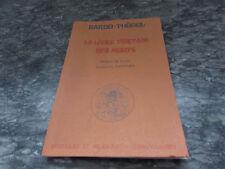 bardo thodol le livre tibetain des morts 1977