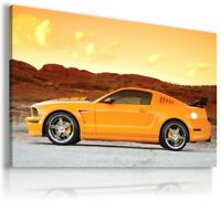 FORD MUSTANG Super Sports Car Large Wall Art Canvas Picture AU63 UNFRAMED