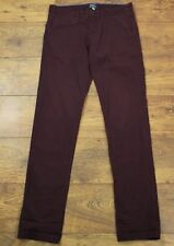 "JOULES Mens Fig STRETTON Slim JEANS / CHINOS - Size Waist 30"" - Leg 33"""