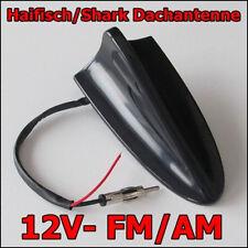 FM/AM RADIOFUNTION Auto/KFZ/PKW Hai Antenne Schwarz Dachantenne Shark Haifisch