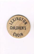 Wooden Nickel Lexington Children's Choir