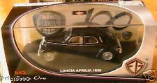 LANCIA APRILIA 1939 NOIRE EDISON GIOCATTOLI EG ITALIA 1/43 SERIE ORO NEW BLACK