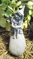 Latex only small sitting fairy mold plaster cement mold