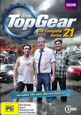 Top Gear : COMPLETE Season 21 : NEW DVD