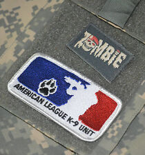 SYRIA-IRAQ GREEN BERETS CIED 2-TAB: AMERICAN LEAGUE CANINE K-9 + ZOMBIE FORCE