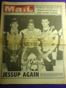 SPEEDWAY MAIL - 22 May 1981 vol 9 #8