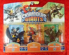 Sonic Boom Sprocket Stump Smash Skylanders Giants, 3 Skylander Figuren, OVP-Neu