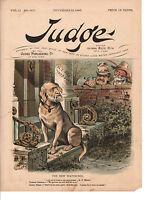 1886 Judge November 13  Hewitt guards the New York City Treasury