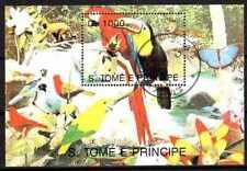 Oiseaux Saint Thomas et prince (21) bloc oblitéré
