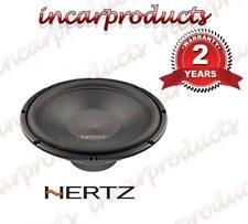"""HERTZ uno S300S4 30cm 12"""" Altoparlante Stereo Audio per Auto Subwoofer Sub Bass 300w"""
