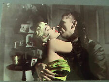 80s MARILYN MONROE POSTCARD 1955 SEven Year Itch scene kissing Tom Ewell