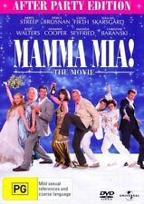 Mamma Mia The Movie DVD After Party Edition Meryl Streep Pierce Brosnan R4