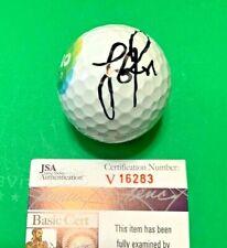 New listing JUSTIN ROSE Signed 2016 RIO Olympic Golf Ball  Auto GOLD MEDAL WINNER JSA COA