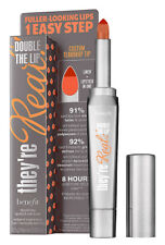 Benefit They're Real DOUBLE THE LIP Lipstick & Lip Liner 1.5g CRIMINALLY CORAL