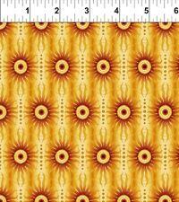 Fabric #2544, Yellow Sun Stripe, Gold Metallic, Jason Yenter, Sold by 1/2 Yard