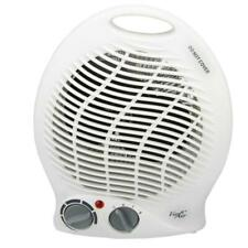 Vie Air 1,500-Watt 2-Settings Portable Fan Heater with Adjustable Thermostat