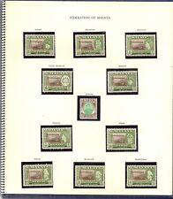 UPU 1957 CONGRESS OTTAWA RARE DELEGATES PRESENTATION ALBUM CAT £1775