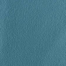 Abraham Moon Earth Blue   100% Wool Plain Upholstery Fabric   In Stock