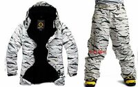 South play Mens Winter Waterproof Desert Military Ski-Snowboard Jacket Or Pants