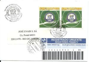 BRAZIL 2004 FOOTBALL SOCCER WORLD CUP CHAMPIONSHIP FIFA Centenary REGISTERED Cvr