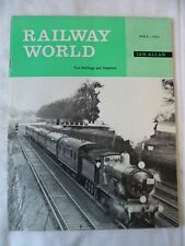 Railway World - May 1963  - Contents shown in photographs