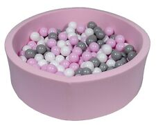 Piscina infantil para niños de bolas pelotas 300 piezas rosa