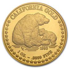 1 oz Gold Round - Great Seal of California - SKU #45520