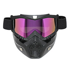 Motorcycle Motocross ATV Off-Road Diving Scooter Ski Goggles Face Mask Helmet