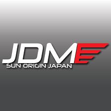 1x JDM RISING SUN origine Strisce Auto Vinile Adesivo Decalcomania | Nissan | MAZDA | DUB