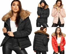 Polyester Puffer Regular Size Coats & Jackets for Women