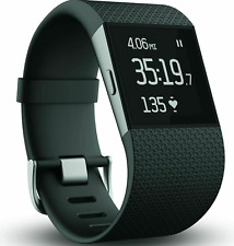 Fitbit Surge Fitness Super Watch With Heart Rate Monitor BLACK - Small