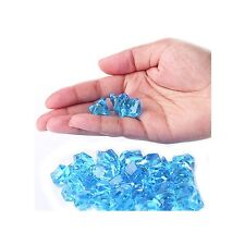 Turquoise  Acrylic Ice Rock Vase Filler Gems Party Confetti Table Scatter 1 lb