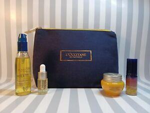 L'Occitane Immortelle Anti Aging Set Divine Cream Oil Overnight Reset Serum