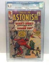Tales to Astonish 51 CGC 9.2 2nd app Human Top OFF-WHITE to WHITE 1/64 Lee Kirby