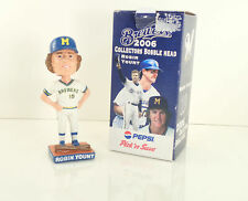 2006 Milwaukee Brewers Robin Yount Pepsi Rookie Bobblehead In Box