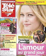 TELE STAR n°2134 26/08/2017  V.Paradis_Koh-Lanta_Amour ds le pré_Kidman_Wahlberg