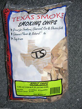 Texas Smoke Wood Apple Grilling Chips for Gas or Charcoal 192 Cu Inch Bag New