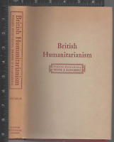 British Humanitarianism: Essays Honoring Frank J. Klingberg 1950 HC/dj Very Good