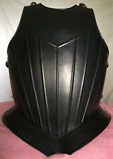 Gothic Breastplate (Ridged) Medieval Armour KNIGHT CRUSADER STEEL 18gauge