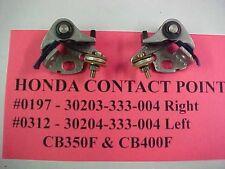 Honda CB350F & CB400F Contact Points